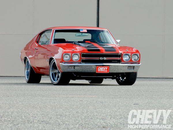 Chevrolet Chevelle SS 454 1970 Cranberry Red