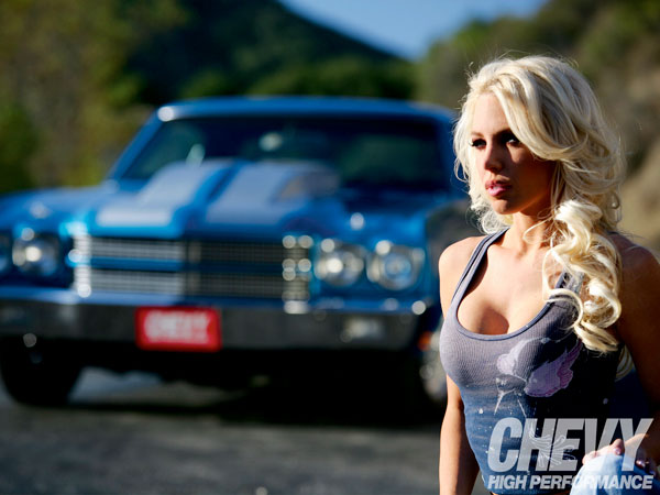 Chevrolet Chevelle SS 1970 Neon Blue