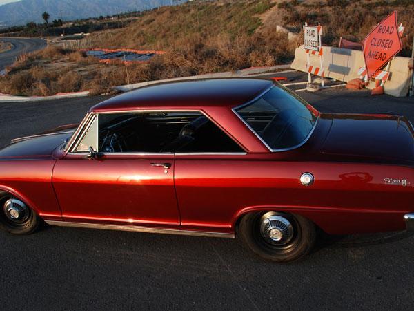 Chevrolet II/Nova 1963 Mitsubishi Lava Red
