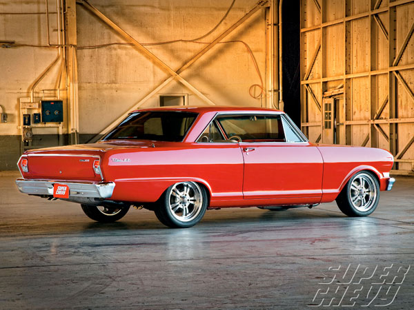 Chevrolet Nova SS 1963 Red