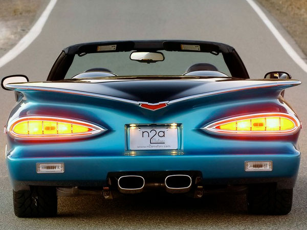 Chevy 789 2007 Aqua & Black