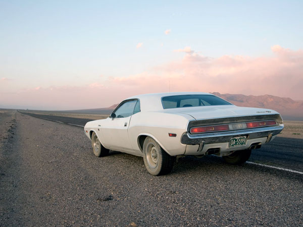 "Dodge Challenger ""Vanishing Point"" 1970 White"