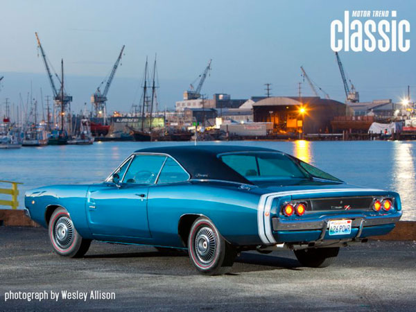 Dodge Charger RT 426 Hemi 1968 Bright Blue