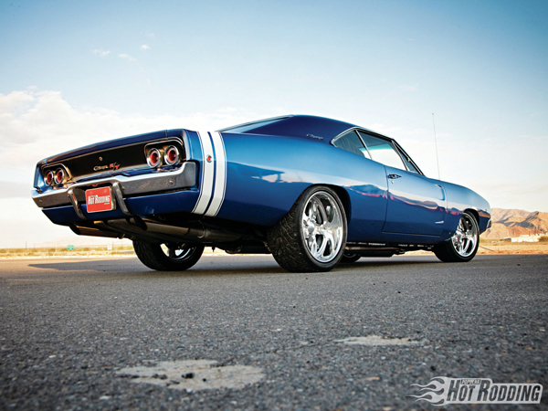 Dodge Charger RT 1968 Blue Alaska