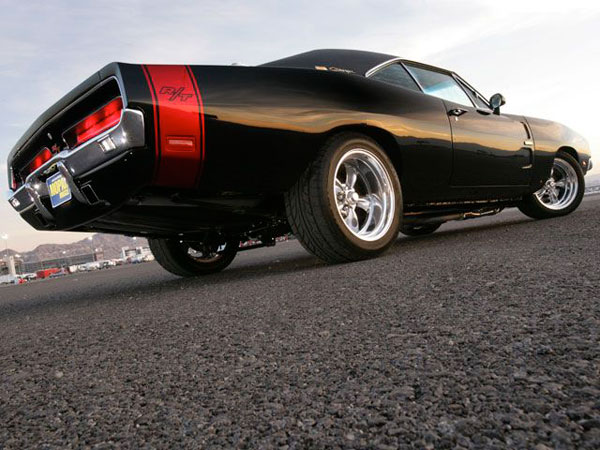 Dodge Charger RT 1969 Black