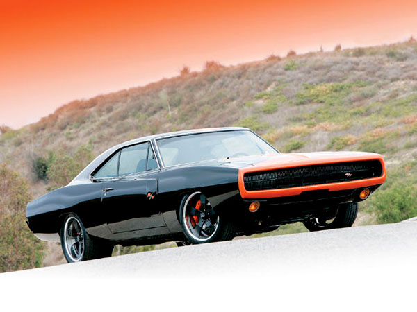 Dodge Charger RT 1970 Inky Black