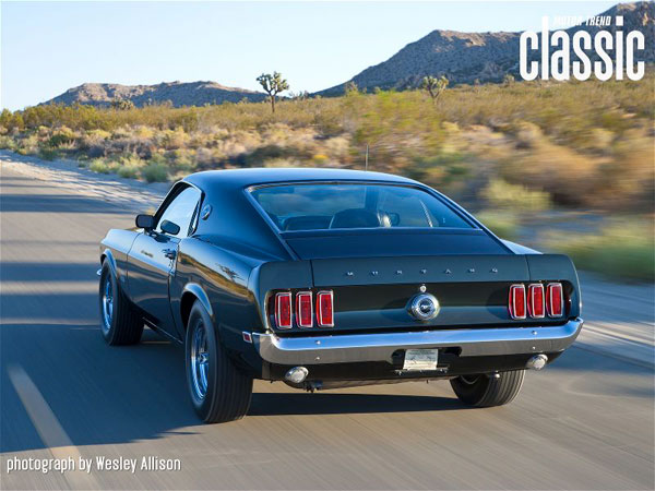 Ford Mustang Boss 429 1969 Black Jade