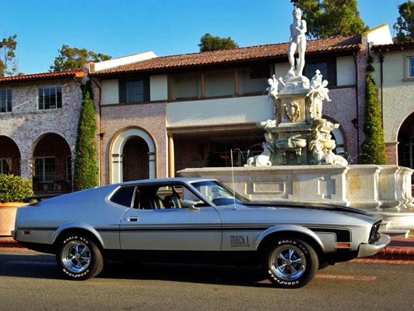 Ford Mustang Fastback Mach 1 1973 Light Pewter Metallic
