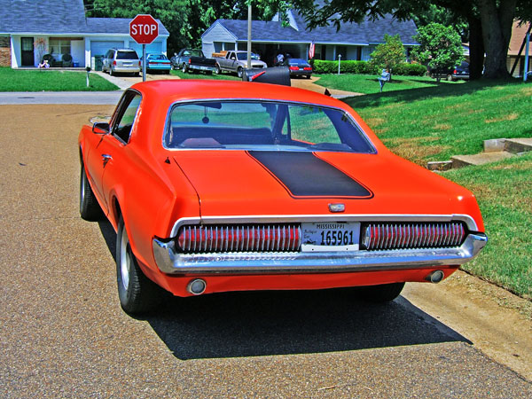 Mercury Cougar 1967 Orange