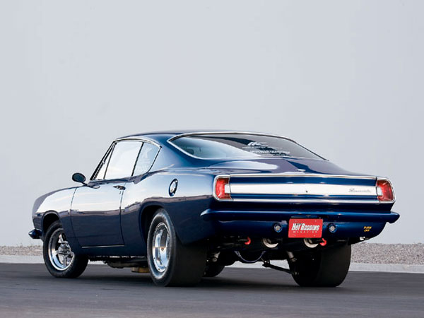 Plymouth Barracuda 1967 Blue