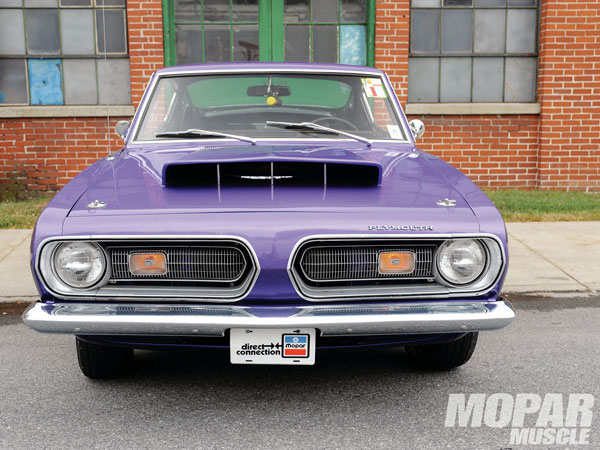 Plymouth Barracuda 1968 Plum Crazy