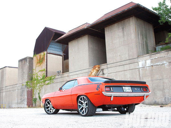 Plymouth Barracuda 1971 Hemi Orange
