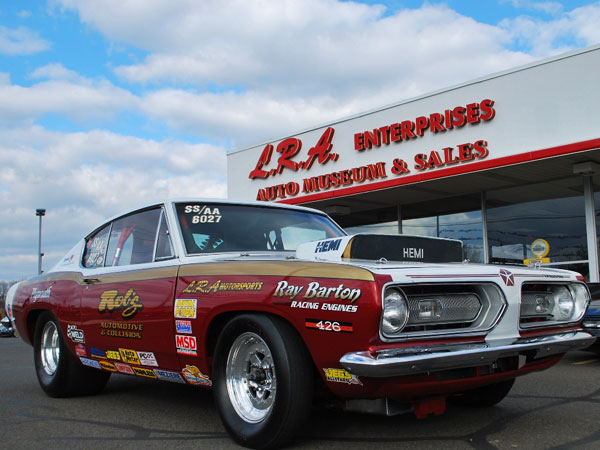 Plymouth Barracuda B029 1968 Ray Barton