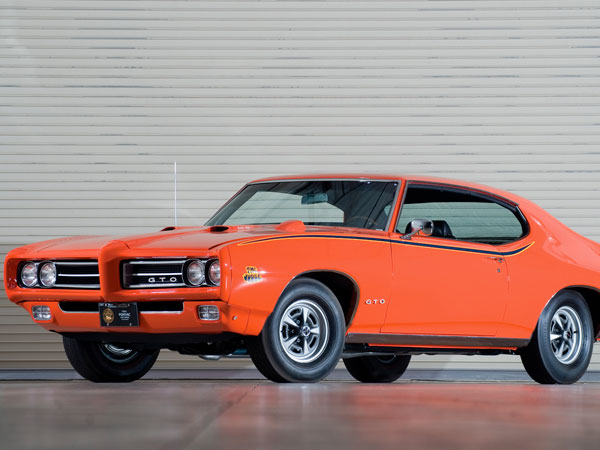 Pontiac GTO The Judge 1969 Orange