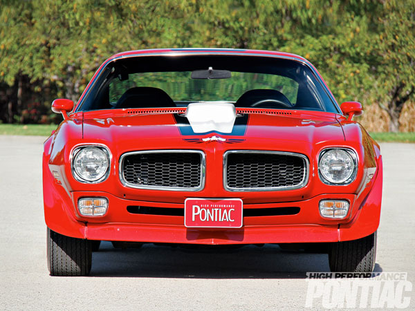 Pontiac Trans Am 1972 Cardinal Red