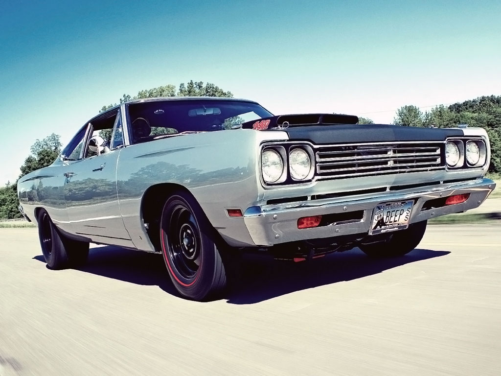 Road Runner Plymouth - Muscle car