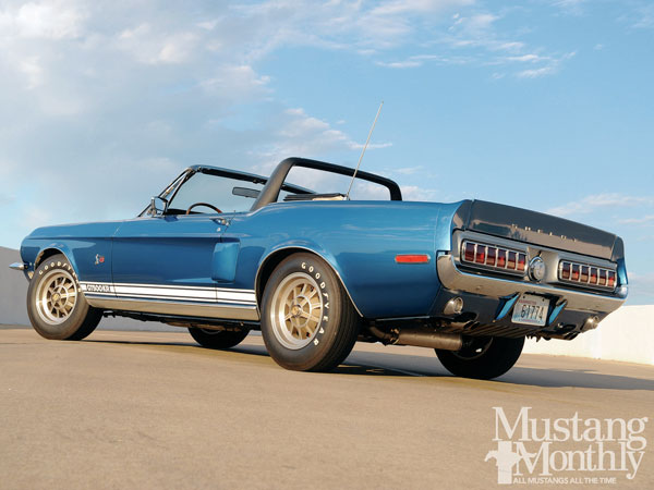 Shelby Mustang GT 500KR Convertible 1968 Acapulco Blue